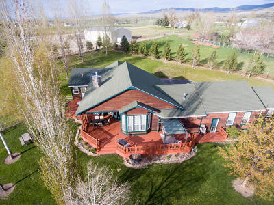 Ravalli County Single Family Home For Sale: 520 Popham Ln