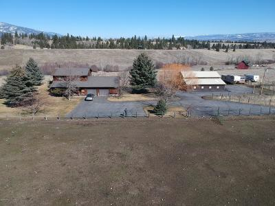 Ravalli County Single Family Home For Sale: 478 Bourne Ln
