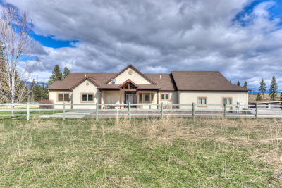 Ravalli County Single Family Home For Sale: 625 Pine Hollow Rd