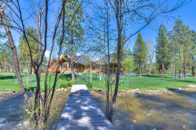 Victor Single Family Home For Sale: 2206 Middle Bear Creek Rd