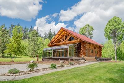 Ravalli County Single Family Home For Sale: 1746 Sundowner Ln
