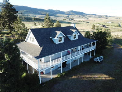 Ravalli County Single Family Home For Sale: 885 Wind Dancer Dr