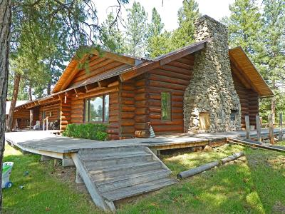 Ravalli County Single Family Home For Sale: 36 Trapper View Lane