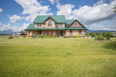 Ravalli County Single Family Home For Sale: 5643 Fairview Ln