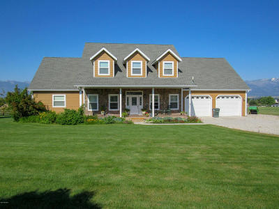 Ravalli County Single Family Home For Sale: 661 Bittersweet Way