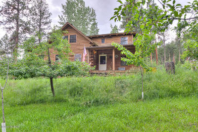 Ravalli County Single Family Home For Sale: 625 Timber Trl