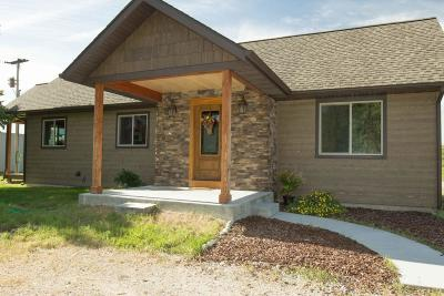 Ravalli County Single Family Home For Sale: 601 Skalkaho Hwy