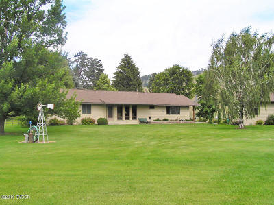 Ravalli County Single Family Home For Sale: 2441 Old Darby Rd