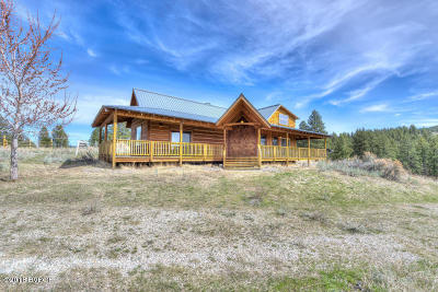 Ravalli County Single Family Home For Sale: 1765 Rocky Top Rd