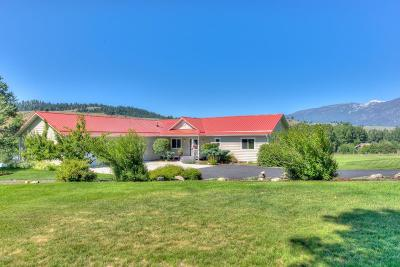 Ravalli County Single Family Home For Sale: 1567 Sleeping Child Rd