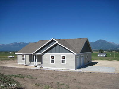 Ravalli County Single Family Home For Sale: 653 Hope Dr