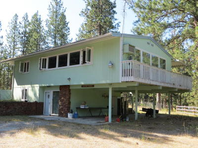 Ravalli County Single Family Home For Sale: 5529 Eastside Hwy