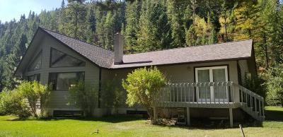 Lolo Single Family Home For Sale: 8680 Sleeman Crk Rd