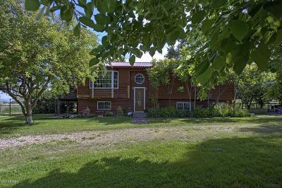 Stevensville Single Family Home For Sale: 878 S Sunset Bench Rd