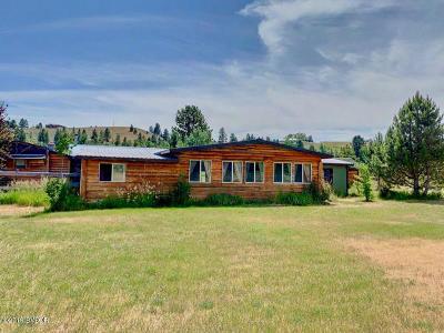 Ravalli County Single Family Home For Sale: 880 Sawyer Ln