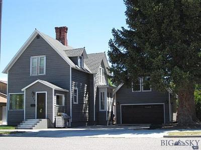 Dillon Single Family Home For Sale: 420 S Idaho Street