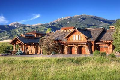 Bozeman MT Single Family Home For Sale: $2,975,000