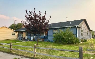 Dillon Single Family Home For Sale: 218 E Chapman
