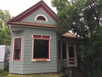 Bozeman Single Family Home For Sale: 527 W Babcock Street