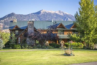 Bozeman MT Single Family Home For Sale: $3,950,000