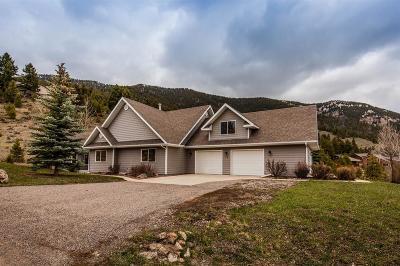 Big Sky Single Family Home For Sale: 22 Two Gun White Calf