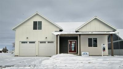 Bozeman, Belgrade, Big Sky, Livingston, Manhattan, Three Forks, Willow Creek, Churchill Single Family Home For Sale: 3157 Trade Wind Lane