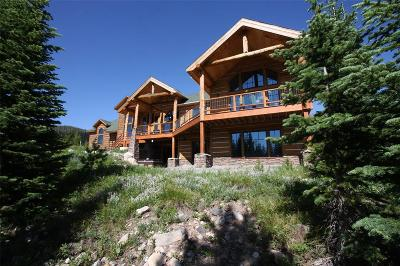Big Sky MT Single Family Home For Sale: $2,950,000