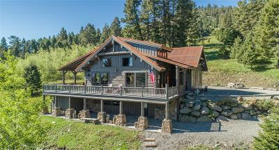 Emigrant Single Family Home For Sale: 335 Rock Creek Road