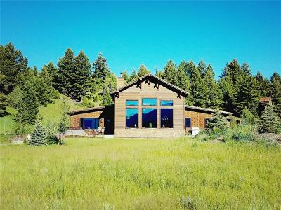 Big Sky Single Family Home For Sale: 287 Windy Pass Trail