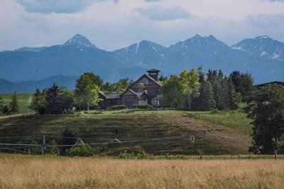 Bozeman MT Single Family Home For Sale: $2,450,000