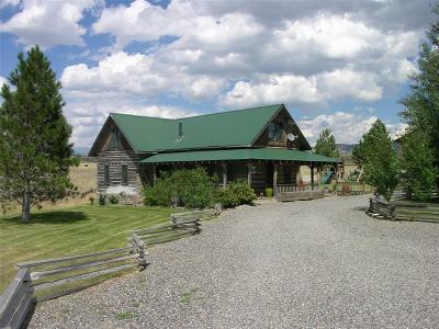 Livingston Single Family Home For Sale: 233 Horse Thief Trail