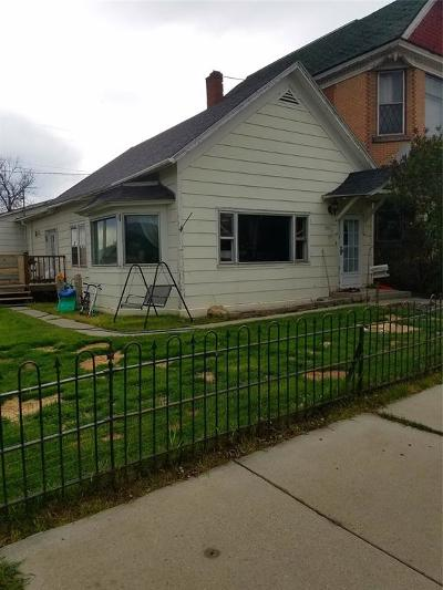 Butte Single Family Home For Sale: 1011 S Wyoming