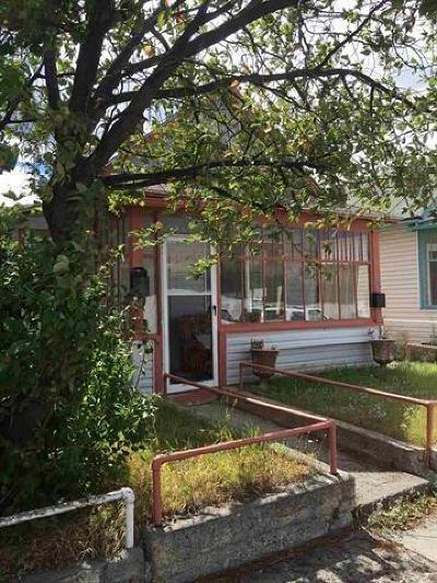Anaconda Single Family Home For Sale: 613 W Commercial Avenue