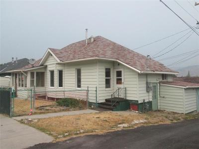 Anaconda Single Family Home For Sale: 410 E 8th