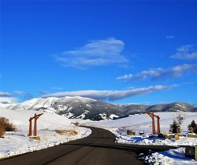 Bozeman MT Residential Lots & Land For Sale: $299,000