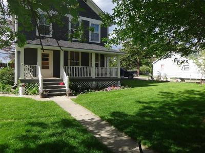Sheridan Single Family Home For Sale: 117 Mill