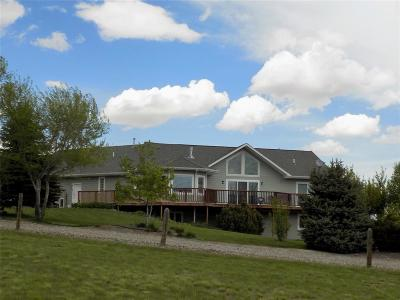 Butte, Whitehall, Ramsay, Divide, Helena, Melrose, Wise River, Belgrade, Manhattan, Livingston, Bozeman, Big Sky Single Family Home For Sale: 50 Chandler Drive
