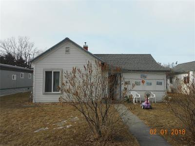 Three Forks Single Family Home For Sale: 318 1st Avenue E