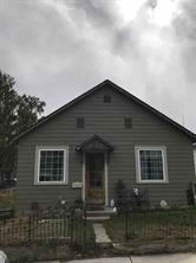 Butte Single Family Home For Sale: 1118 Farrell