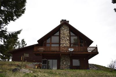Butte Single Family Home For Sale: 1038 Wapiti Mountain Road