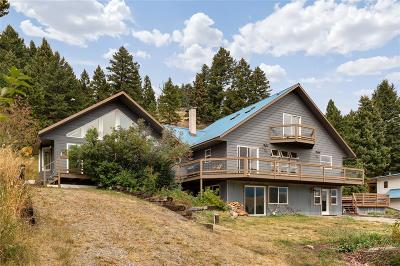 Bozeman Single Family Home For Sale: 8855 Bridger Canyon Road