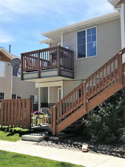 Bozeman Condo/Townhouse For Sale: 859 Forestglen #B