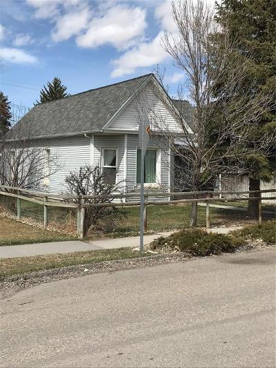 Dillon Single Family Home For Sale: 219 S Railroad
