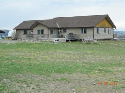 Three Forks Single Family Home For Sale: 9770 Tag Along Road
