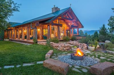 Big Sky Single Family Home For Sale: 100 Red Moose Lane