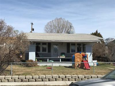 Butte MT Single Family Home For Sale: $95,000