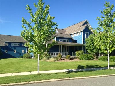 Bozeman Single Family Home For Sale: 26 E Fieldview Circle