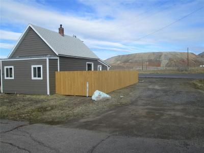 Butte Single Family Home For Sale: 2825 Walnut