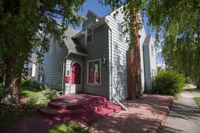 Butte Single Family Home For Sale: 1154 Steele Street