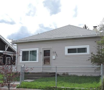 Butte MT Single Family Home For Sale: $124,000